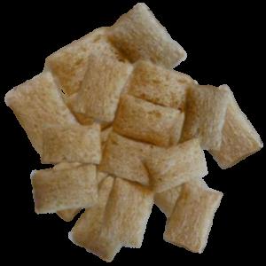 Amaranta spilventiņi ar zemeņu pildījumu