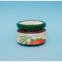 Diētiskais zemeņu  ievārījums ar topinambūru un steviju