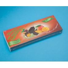 Želejas konfektes ar mango-marakuija konditorejas glazūrā